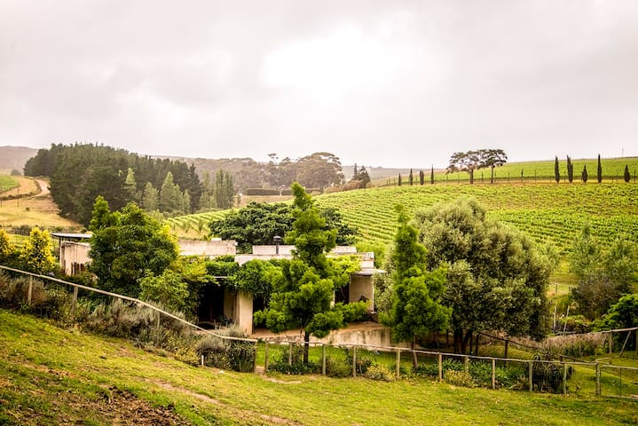 Self-catering cottage on the Hermanus Wine Route