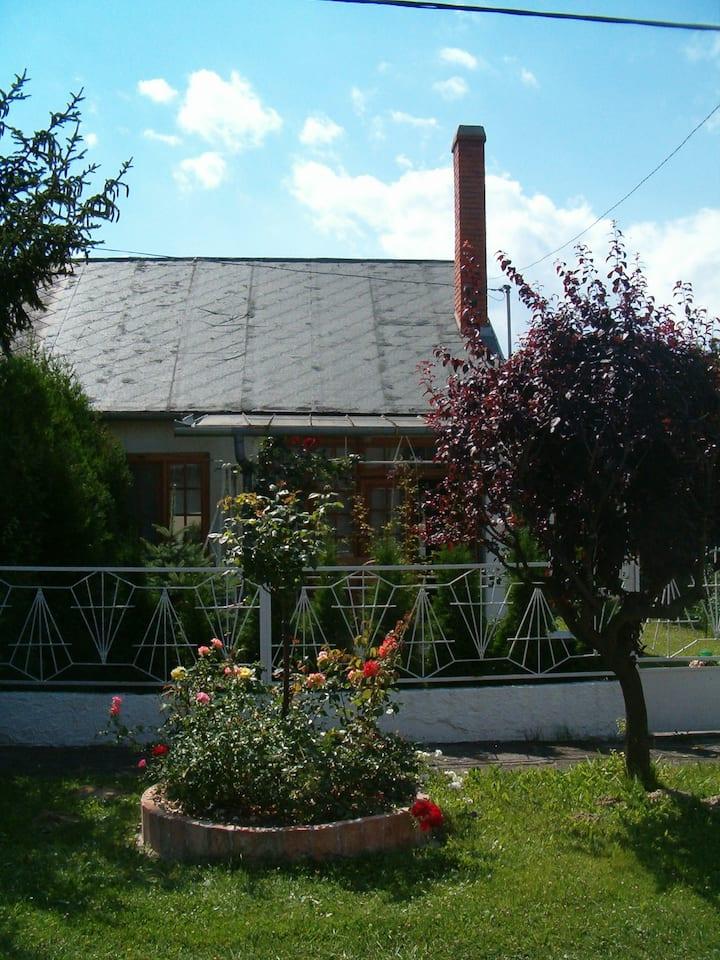 Hétvégi ház a Balatonparton