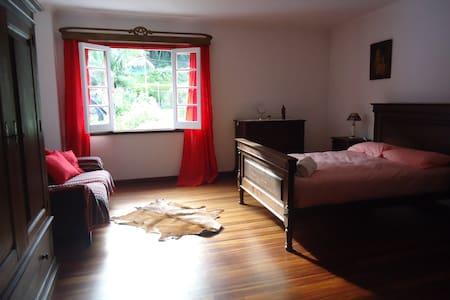 Orchid room at *Casa da Tia Benta* - Furnas