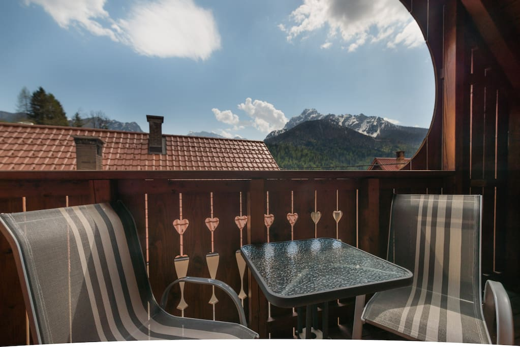 Villa Nebina - shared balcony