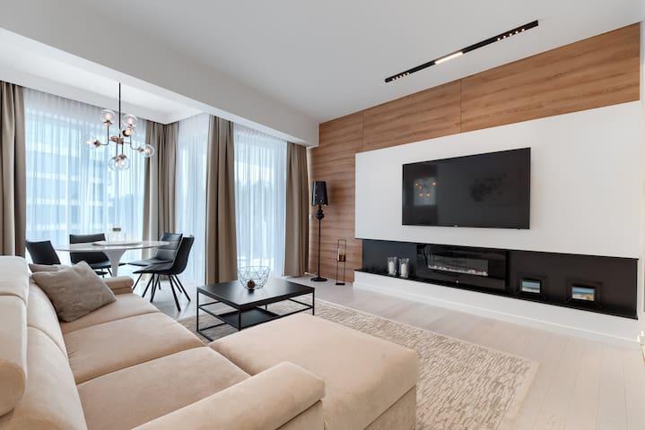 Apartament Deluxe z 1 sypialnią w Dune Resort - B