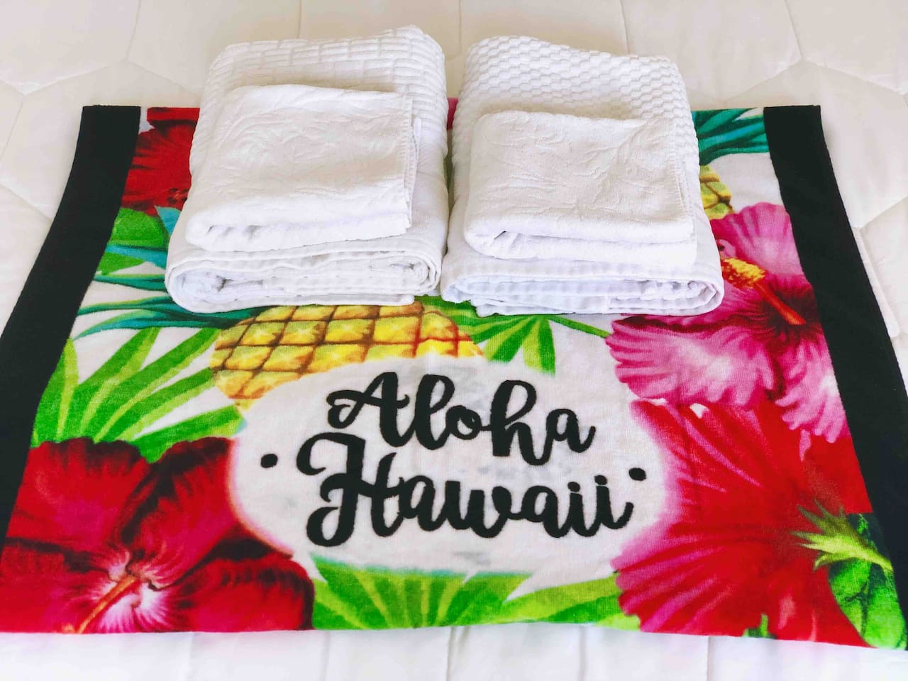 Aloha & welcome to our place.