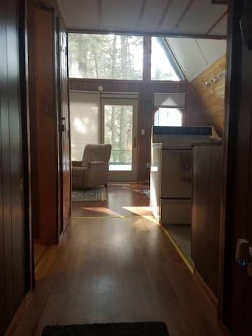 Rustic aframe cozy cabin 4