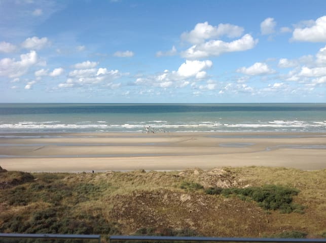Relaxing 4p appt with stunning view ! - De Panne - Departamento