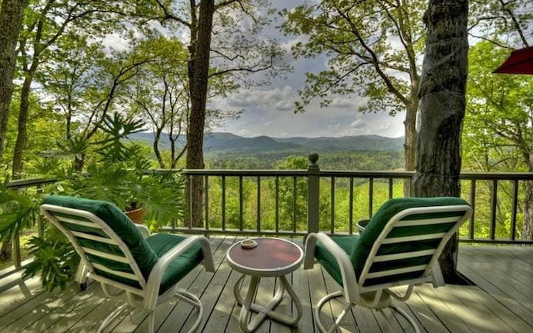 AWESOME VIEWS, 21 AC, TOP OF MTN, PEACEFUL, QUIET! - Blue Ridge