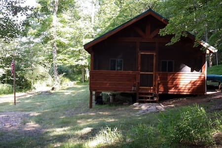 Rustic Cabin on Cacapon River for Private Getaway - Great Cacapon