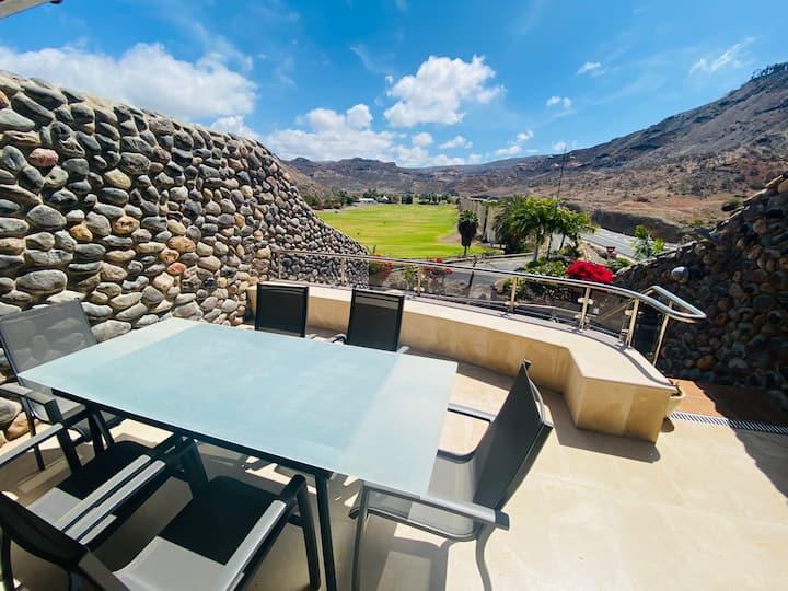 Duplex Bravo in the Anfi Tauro golf resort Topaz