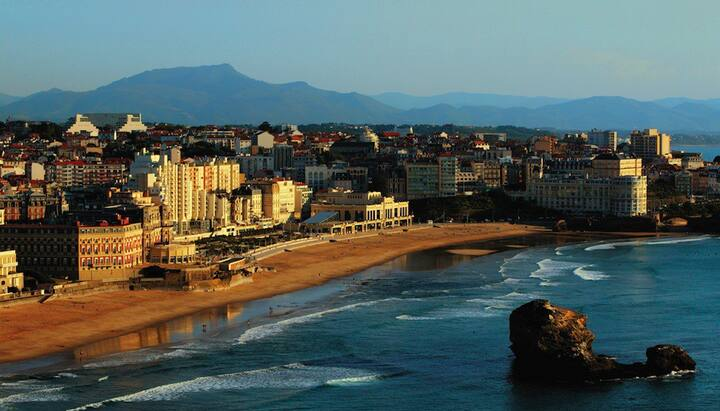 Biarritz grande plage - centre - piscine privé