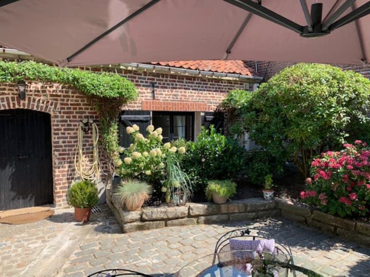 Charmant petit Appart-Maison en Rez de Jardin