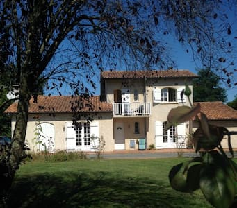 1 room +, friendly English family. - Les Peintures,Nr Bordeaux, Gironde. - 住宿加早餐