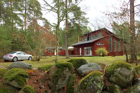 Stylish brand new pine forest villa