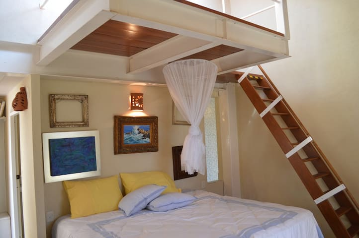 Beautiful Romantic Room right in the Marina - Nuevo Vallarta - Hytte