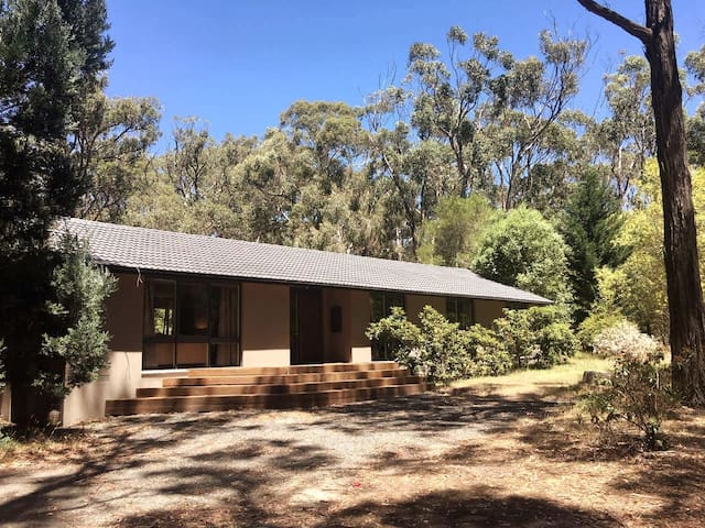 9 acres lush with trees in the Macedon Ranges