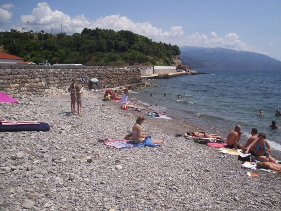 beach điga-SENJ