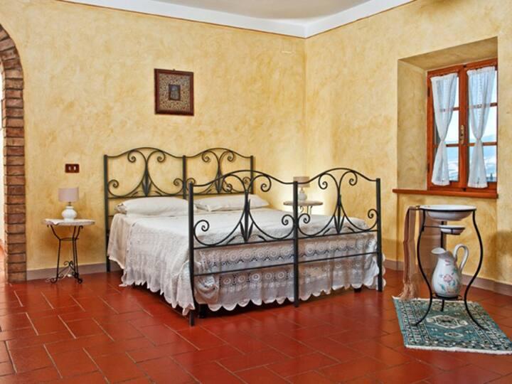 Appartamento Bacco in Val d' Orcia (4 persone).