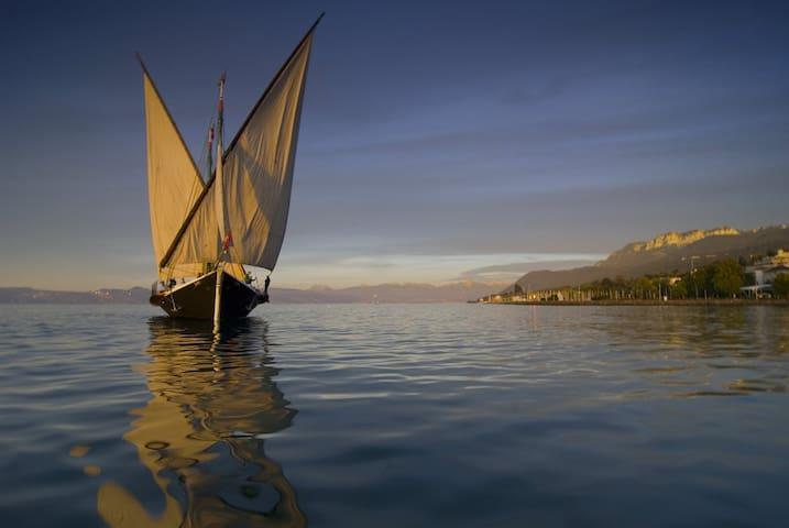 Nice studio Lake Geneva / Mountains - Sciez - Byt