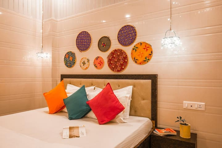 Bed In 6 Bed Mix Dorm@goStops Amritsar Chaitiwind