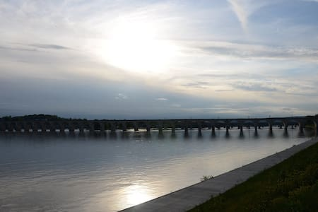 Water front & beautiful sunset views in Harrisburg
