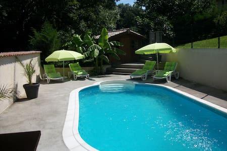 belle villa avec piscine Valencin - Valencin - House