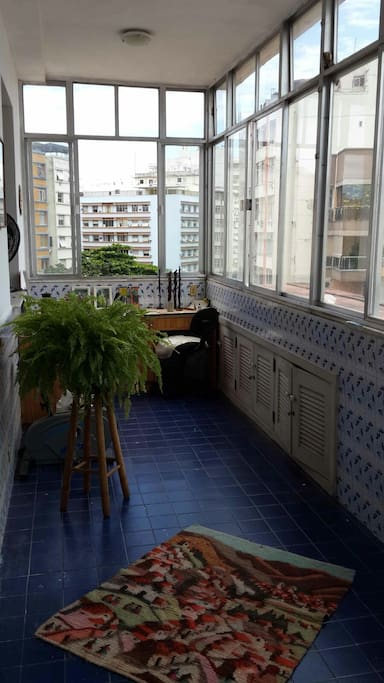 Great terrace with access from the room