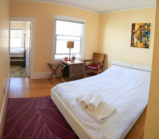 The Suite has 2 bedrooms