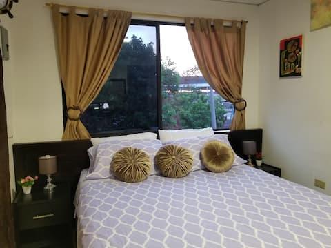 Täydellinen, mukava ja yksityinen huoneisto