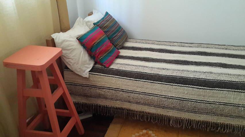 Habitación privada en casa antigua - La Plata - บ้าน