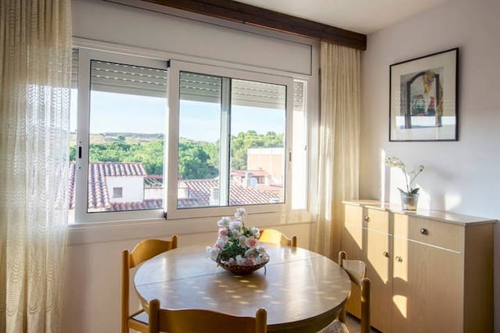 Joli T2 Figueres - vue château - Figueres - Apartment