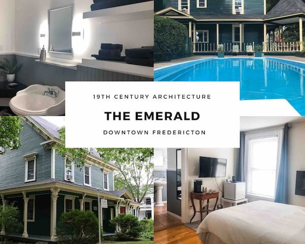 The Emerald #1-Parking- WIFI-Games Room