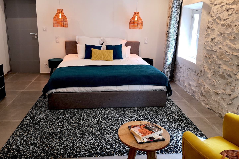 Literie Vaison La Romaine les chambres du'o - n°2 - chambres d'hôtes à louer à vaison