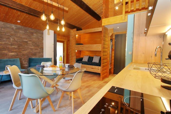 Appartement meublé dans chalet