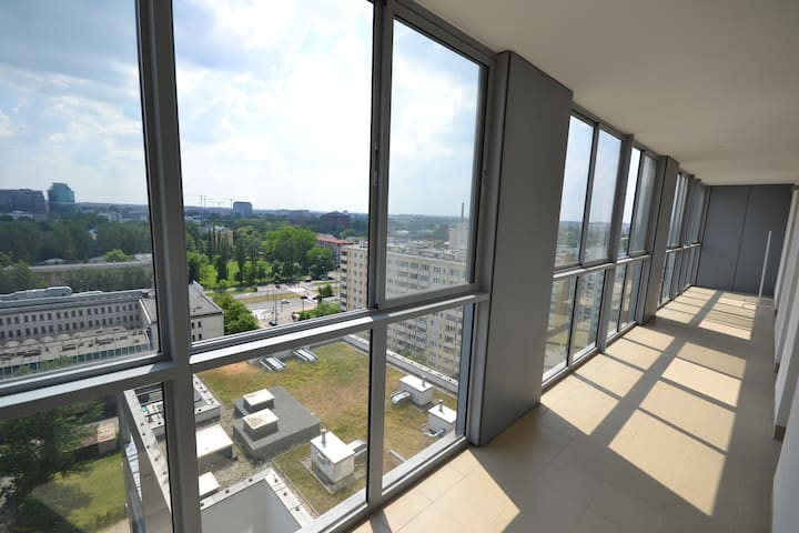 14th Warsaw View Apartment 2 bedrooms 80sqm - Warsaw - Apartment