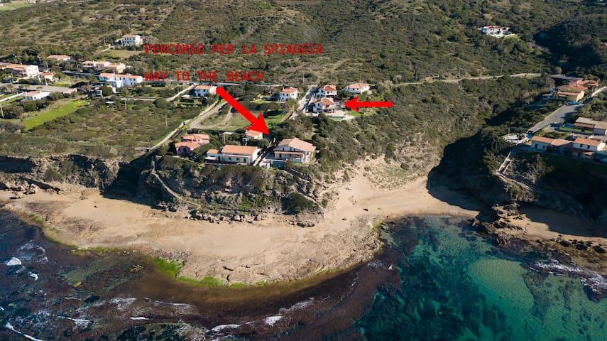 Maison Deriu - Close to the Beach Sleeps 4   P3289