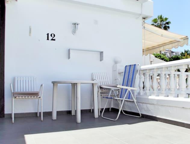 M12 Bungalow central to Puerto Rico - Puerto Rico de Gran Canaria - Apartament