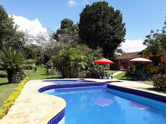 Casa campestre Mesa de Los Santos - Los Santos - Natuur/eco-lodge