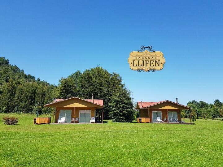 Cabañas en Llifen, totalmente equipadas