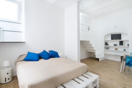 Little White Loft in San Lorenzo Rome - Rom - Wohnung