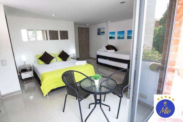 Hotel Mio Lofts ✪ Poblado Balcony View ✪ XXII