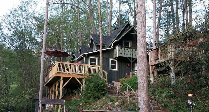 Cozy Creekside Cabin - Vilas - Cottage