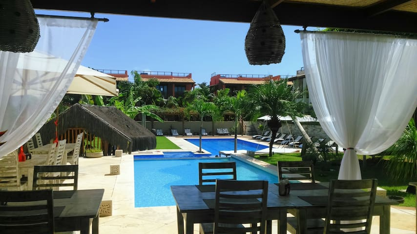 A7 - Beautiful apartment in Pipa Beleza Resort - Pipa Beach - Appartement