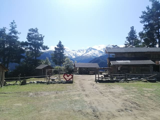 Stone Hut (Heshkili Huts) Mestia