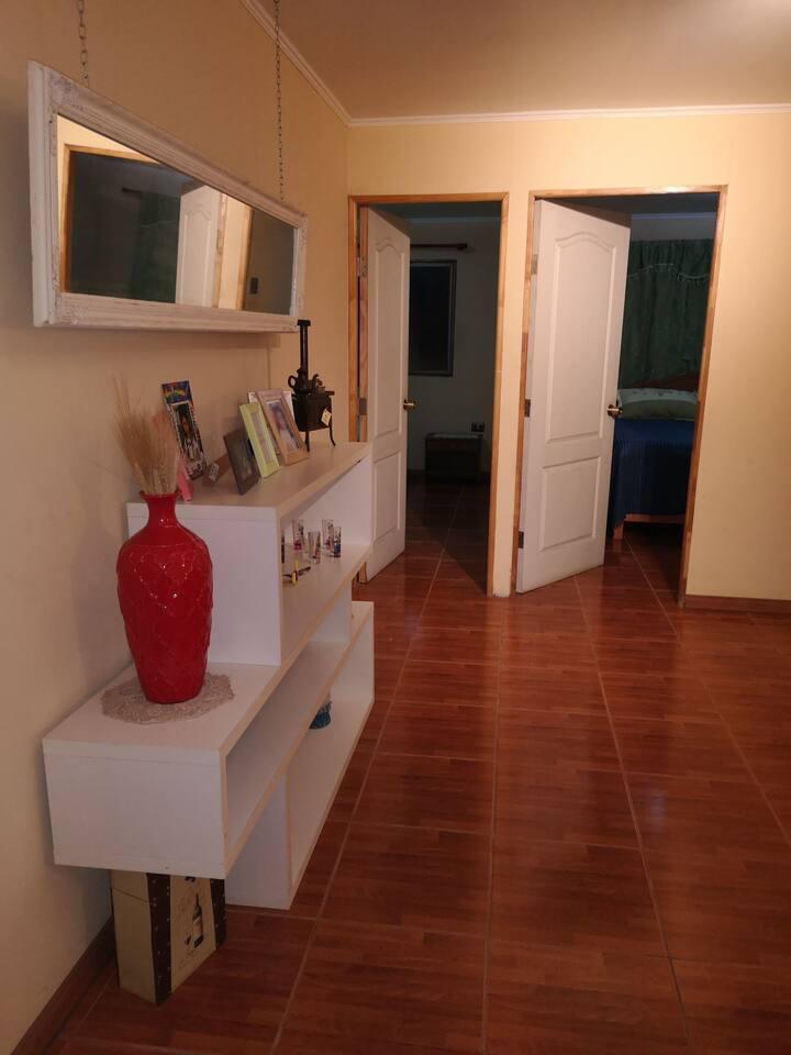 Habitacion Matrimonial - Baño compartido
