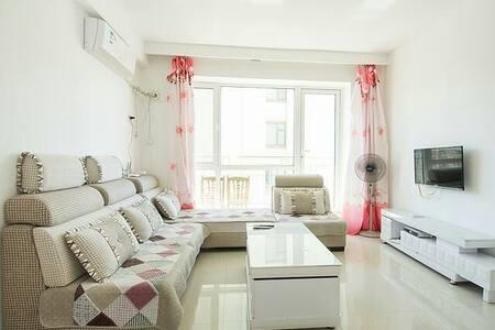 山海广场~免费私人专属停车位~空调精装日租家庭公寓房wifi - Yingkou Shi