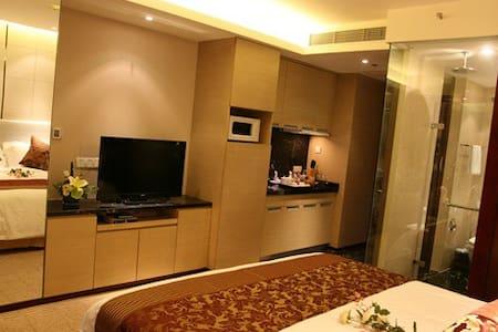 舒适住房,美景美食,尽收眼底。体验不一样的生活方式。 - Huainan - Huis