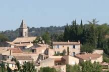 vieux village de Roaix