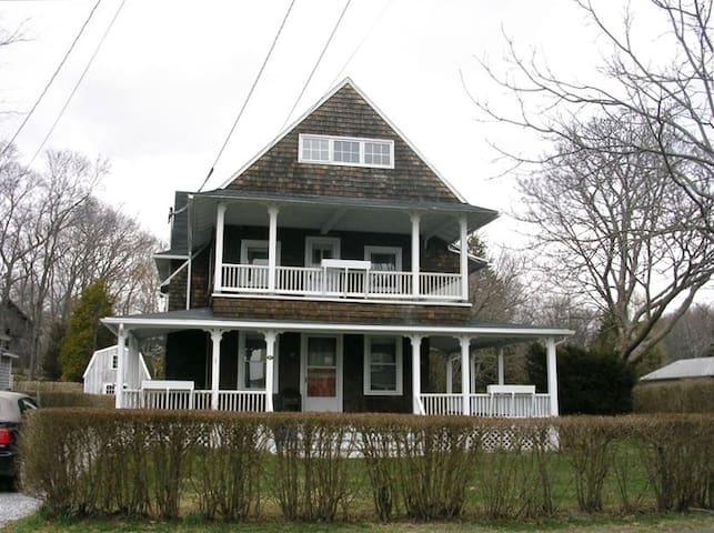 Victorian beach house