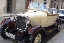 Autos clásicos para recorridos/Classic car for tour