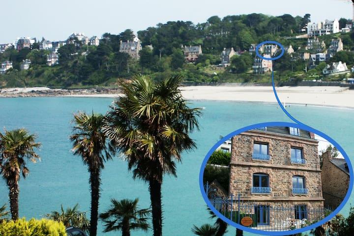 VILLA App 3 pièces jardin/terrasse - vue mer plage - Perros-Guirec - Квартира