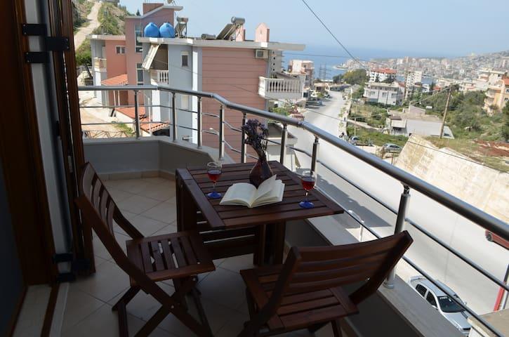 Saranda View Apartments-Junior Suite 2 with Sunset