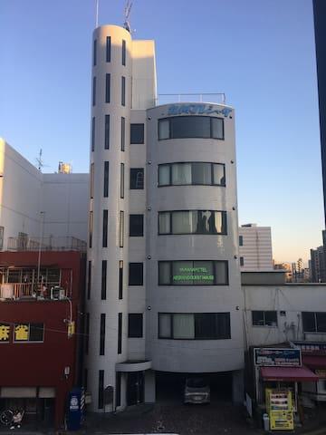 YAMANAMI'TEL 二階ベッド専用室